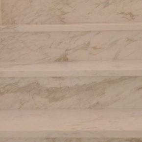 schody marmurowe Calacatta