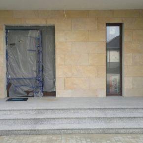 schody granitowe Bianco Sardo